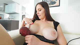 Video be fitting of mature amateur Lilian playing with their way euphoric pussy