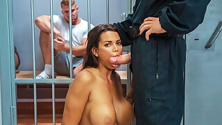 LAW4k. Having vagina drilled hard by cops in affectation of BF