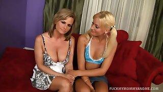 Blonde Mother Lass Slutty Duo