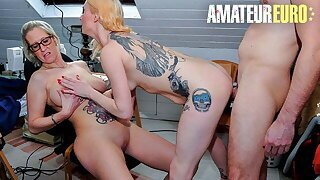 REIFE SWINGER Ziska & Mercedes Boode Hot Threeway On every side John