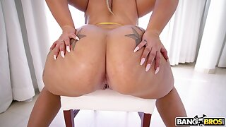 Big ass chubby blonde alongside seductive porn kink