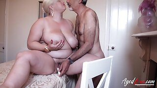 Mature lady got fingered and toyed her wet pussy to be wet for later hardcore fuck Find full length videos on our network Oldnanny.com